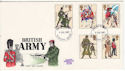 1983-07-06 British Army Uniforms Stamps Plymouth FDC (64793)