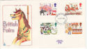 1983-10-05 British Fairs Stamps Plymouth FDC (64794)