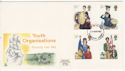 1982-03-24 Youth Organisations Stamps Plymouth FDC (64799)