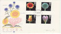 1987-01-20 Flower Stamps Chester FDC (64806)