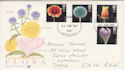 1987-01-20 Flower Stamps Llanelli FDC (64807)