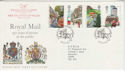 1985-07-30 Royal Mail Bagshot + Carried Cachet (64809)