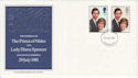 1981-07-22 Royal Wedding Stamps London W1 FDC (64811)