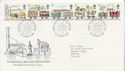 1980-03-12 Railway Stamps Liverpool FDC (64814)