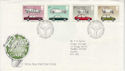 1982-10-13 British Motor Cars Stamps Bureau FDC (64821)