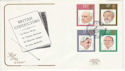 1980-09-10 Music Conductors Stamps London SW FDC (64873)