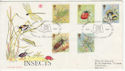 1985-03-12 Insects Stamps Alton Hants FDC (64876)