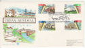 1984-04-10 Urban Renewal Stamps Perth FDC (64878)