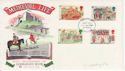 1986-06-17 Medieval Life Stamps Cestre Chester FDC (64881)