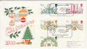 1980-11-19 Christmas Stamps Regent Street FDC (64888)