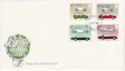 1982-10-13 British Motor Cars Stamps London FDC (64920)