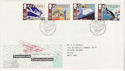 1988-05-10 Transport Stamps Glasgow FDC (64924)