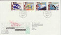1988-05-10 Transport Stamps Glasgow FDC (64925)