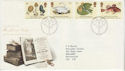 1988-01-19 Linnean Society Stamps Bureau FDC (64926)