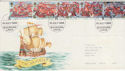 1988-07-19 The Armada Stamps Blackburn FDC (64929)