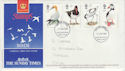 1989-01-17 Birds Stamps Sunday Times Fylde FDC (64936)