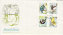1980-01-16 British Birds Stamps London FDC (64947)