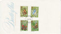 1981-05-13 Butterflies Stamps Chester FDC (64948)