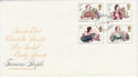 1980-07-09 Authoresses Stamps London FDC (64955)