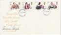 1980-07-09 Authoresses Stamps London FDC (64956)