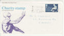 1975-01-22 Charity Stamp Gwent Slogan FDC (64963)