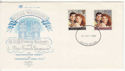 1986-07-23 Royal Wedding Stamps Devon Souv (64969)