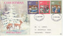 1970-11-25 Christmas Stamps S Devon FDC (64991)