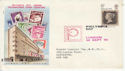 1970-09-18 Philympia Stamps London FDC (65008)