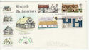 1970-02-11 Rural Architecture Stamps Aberdeen FDC (65039)