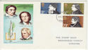 1971-07-28 Literary Anniversaries Stamps Liverpool FDC (65056)