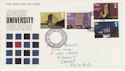 1971-09-22 University Buildings Stamps Llanelli FDC (65097)