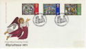 1971-10-13 Christmas Stamps Canterbury FDC (65101)