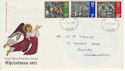 1971-10-13 Christmas Stamps Teesside FDC (65103)