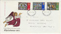 1971-10-13 Christmas Stamps Newcastle FDC (65104)