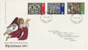 1971-10-13 Christmas Stamps Ilford FDC (65105)