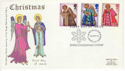 1972-10-18 Christmas Stamps Bethlehem FDC (65147)