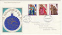 1972-10-18 Christmas Stamps London FDC (65152)