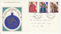 1972-10-18 Christmas Stamps Newcastle FDC (65155)