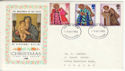 1972-10-18 Christmas Stamps Devon FDC (65156)
