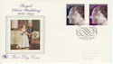1972-11-20 Silver Wedding Stamps Windsor FDC (65159)