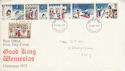 1973-11-18 Christmas Stamps London FDC (65183)