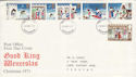 1973-11-28 Christmas Stamps Devon FDC (65184)