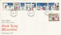 1973-11-28 Christmas Stamps Enfield FDC (65185)