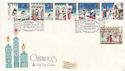 1973-11-28 Christmas Stamps Bethlehem FDC (65193)