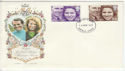 1973-11-14 Royal Wedding Stamps Enfield FDC (65194)