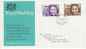 1973-11-14 Royal Wedding Stamps Ilford FDC (65211)