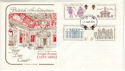 1973-08-15 Inigo Jones Stamps Cotswold FDC (65228)