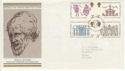 1973-08-15 Inigo Jones Stamps Bureau FDC (65230)
