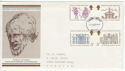 1973-08-15 Inigo Jones Stamps Bristol FDC (65233)