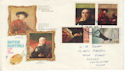 1973-07-04 British Painters Stamps Chichester FDC (65251)